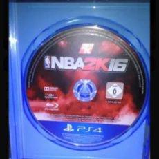 Videojuegos y Consolas PS4: NBA PS4 2K 16. Lote 127643547