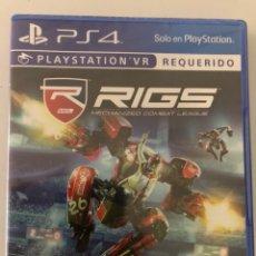 Videojuegos y Consolas PS4: RIGS PSVR PS4. Lote 127752298