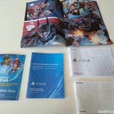 Videojuegos y Consolas PS4: PANFLETOS Y COMIC EDICION BATMAN ARKHAM KNIGHT PS4. Lote 128086434
