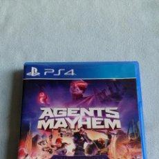 Videojuegos y Consolas PS4: AGENTS OF MAYHEM - PLAYSTATION 4 - PAL/ESP - SEMINUEVO. Lote 128117043