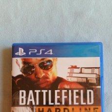 Videojuegos y Consolas PS4: BATTLEFIELD HARDLINE - PLAYSTATION 4 - PAL/ESP - SEMINUEVO. Lote 128117091