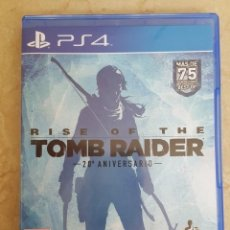 Videojuegos y Consolas PS4: JUEGO PS4 RISE OF THE TOM RAIDER . 20ª ANIVERSARIO .. Lote 128130303