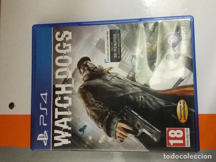 08-00194 PS4 WATCH DOGS ( SOLO CARATULA, NO FUNCIONA) (Juguetes - Videojuegos y Consolas - Sony - PS4)