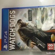 Videojuegos y Consolas PS4: 08-00194 PS4 WATCH DOGS ( SOLO CARATULA, NO FUNCIONA). Lote 129006547