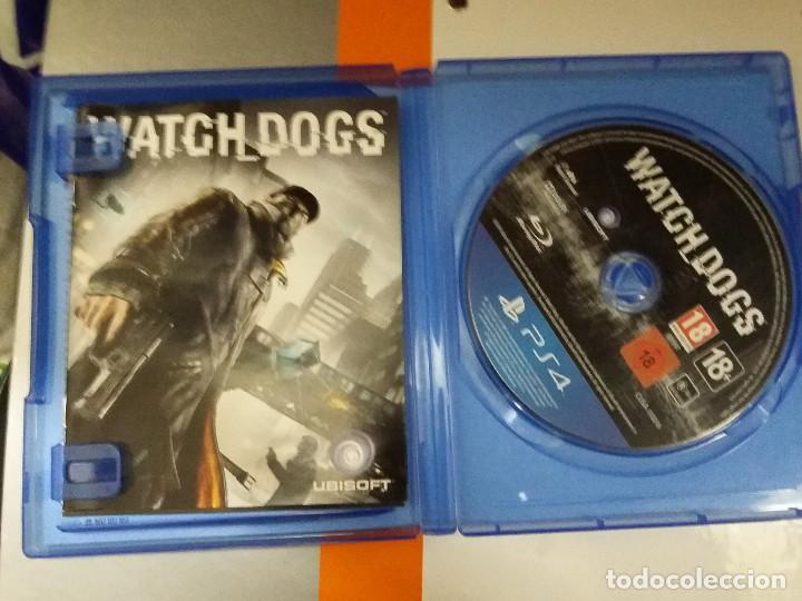 Videojuegos y Consolas PS4: 08-00194 PS4 Watch dogs ( SOLO CARATULA, NO FUNCIONA) - Foto 2 - 129006547
