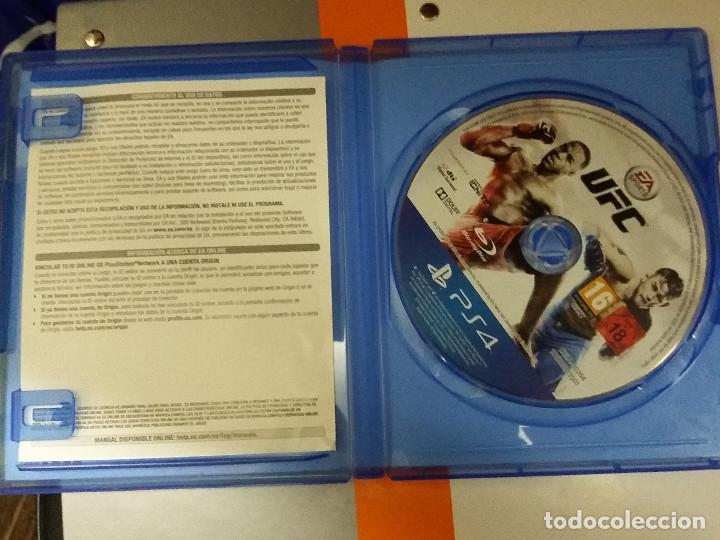 Videojuegos y Consolas PS4: 08-00197 PS4 EA Sports UFC - Foto 2 - 129007571