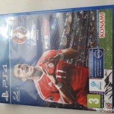 Videojuegos y Consolas PS4: 08-00225 PS4 - PES 2016 - PRO EVFOLUTION SOCCER- EURO2016 -FRANCIA. Lote 129008055