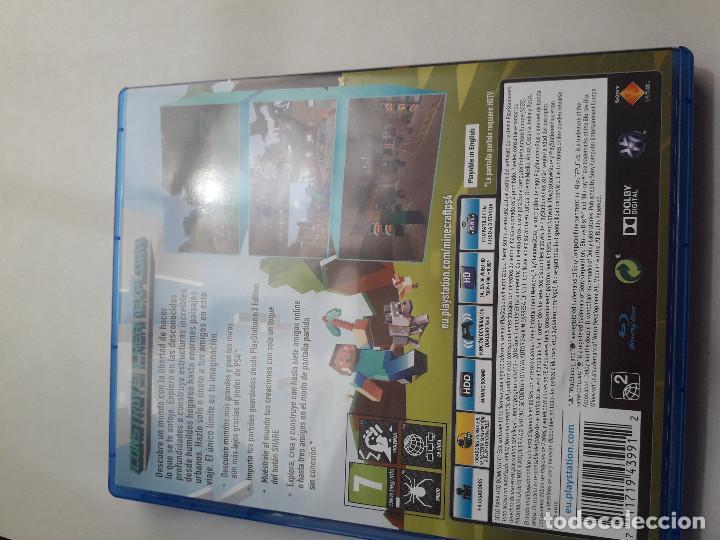 Videojuegos y Consolas PS4: 08-00226 PS4 MINECRAFT PLAYSTATION 4 EDITION - Foto 2 - 129008231