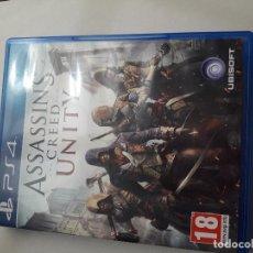 Videojuegos y Consolas PS4: 08-00227 PS4 ASSASSIN'S CREED UNITY. Lote 129008667