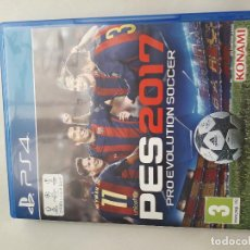 Videojuegos y Consolas PS4: 08-00230 PES 2017 - PRO EVOLUTION SOCCER-. Lote 129009275