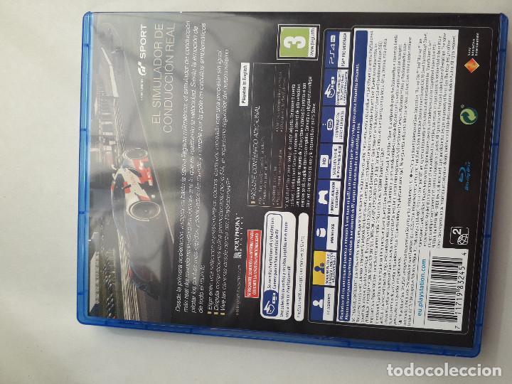 Videojuegos y Consolas PS4: 08-00231 GT SPORT - GRAN TURISMO SPORT - Foto 2 - 129009383