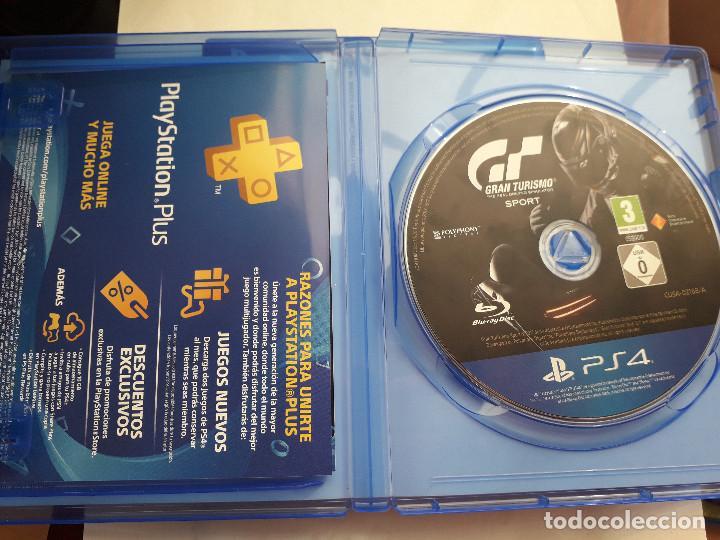 Videojuegos y Consolas PS4: 08-00231 GT SPORT - GRAN TURISMO SPORT - Foto 3 - 129009383