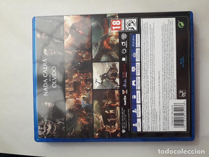 Videojuegos y Consolas PS4: 08-00232 LA TIERRA MEDIA, SOMBRAS DE GUERRA - Foto 2 - 129009539