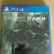 Videojuegos y Consolas PS4: SONY PS4 JUEGO EARTH'S DAWN NUEVO. Lote 130061399
