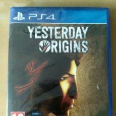 Videojuegos y Consolas PS4: SONY PS4 JUEGO YESTERDAY ORIGINS NUEVO. Lote 130061947