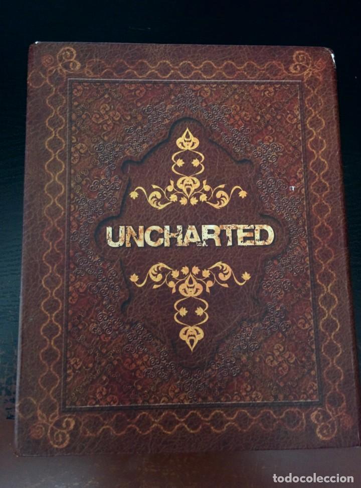 CAJA MARRON UNCHARTED (Juguetes - Videojuegos y Consolas - Sony - PS4)