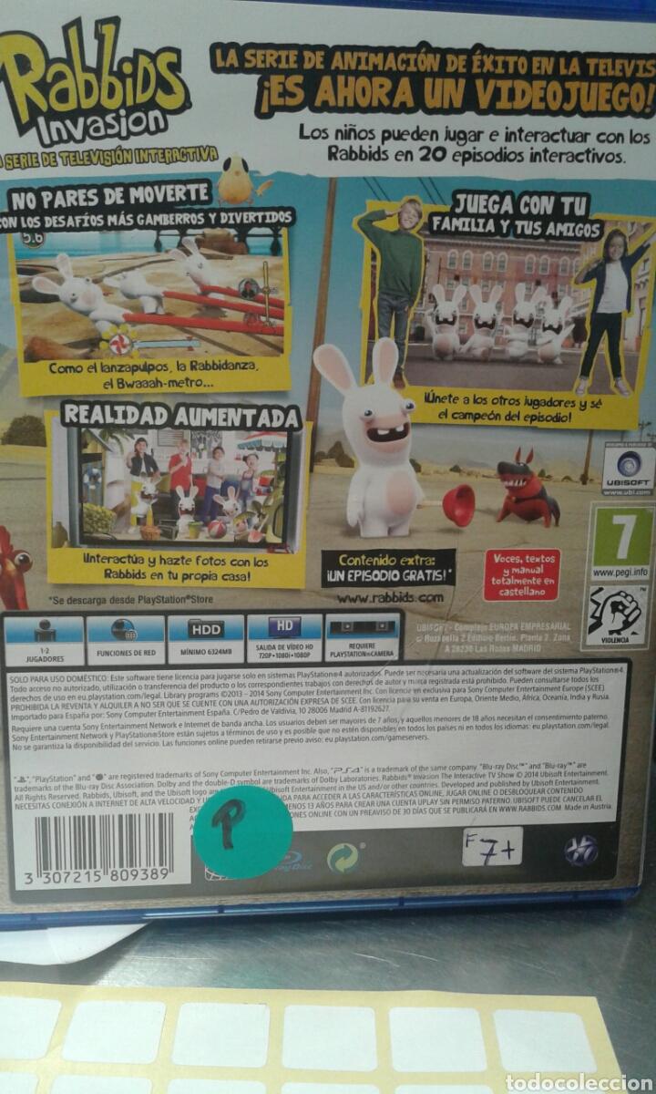 Juego Ps4 Rabbids Invasion Comprar Videojuegos Y Consolas Ps4 En