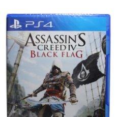 Videojuegos y Consolas PS4: ASSASINS CREED 4 BLACK FLAG PS4 PRECINTADO. Lote 132789154