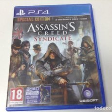 Videojuegos y Consolas PS4: ASSASSIN'S CREED SYNDICATE SPECIAL EDITION. Lote 133931626
