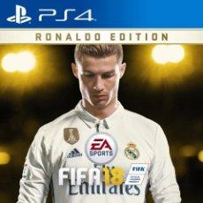 Videojuegos y Consolas PS4: FIFA 18 RONALDO EDITION PARA PS4. Lote 134321626