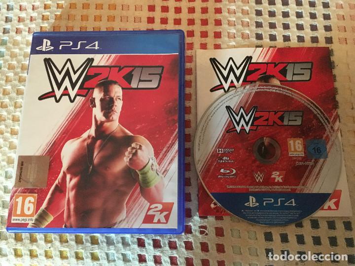 W2K15 W 2K15 2K 15 WWE PS4 PLAYSTATION 4 PLAY STATION 4 (Juguetes - Videojuegos y Consolas - Sony - PS4)