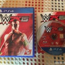 Videojuegos y Consolas PS4: W2K15 W 2K15 2K 15 WWE PS4 PLAYSTATION 4 PLAY STATION 4. Lote 225316400