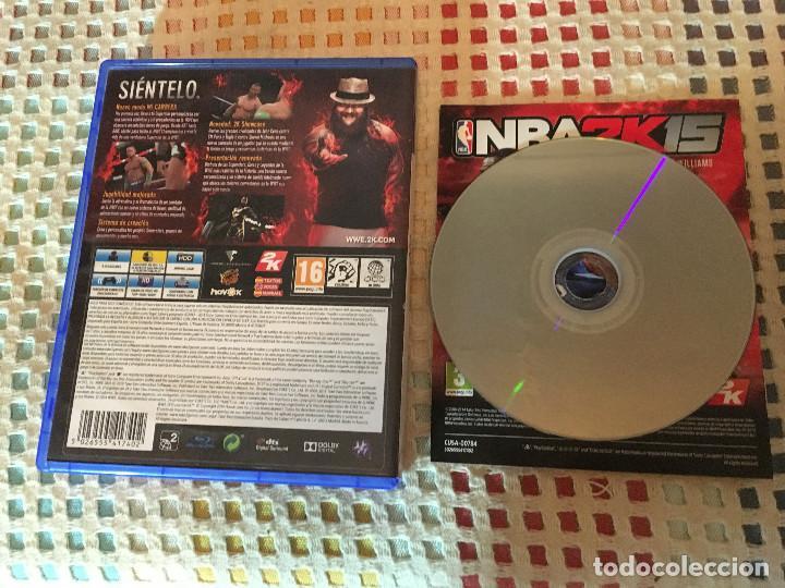 Videojuegos y Consolas PS4: W2K15 W 2K15 2K 15 WWE PS4 PLAYSTATION 4 play station 4 - Foto 2 - 225316400