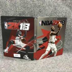 Videojuegos y Consolas PS4: NBA 2K18 STEELBOOK SONY PLAYSTATION 4. Lote 136435340