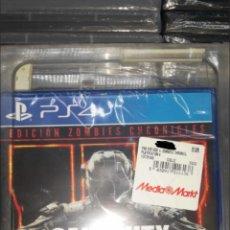 Videojuegos y Consolas PS4: PS4 CALL OF DUTY COD BLACK OPS III 3 ZOMBIE CHRONICLES NUEVO PRECINTADO. Lote 137999932