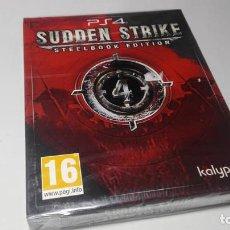 Videojuegos y Consolas PS4: SUDDEN STRIKE 4 - STEELBOOK EDITION ( PS4 - ESPAÑA ) PRECINTADO!. Lote 139561070