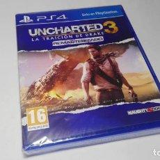 Videojuegos y Consolas PS4: UNCHARTED 3 - LA TRAICION DE DRAKE ( REMAS) ( PS4 - ESPAÑA ) PRECINTADO!. Lote 139561258