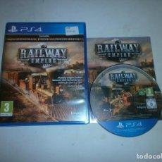 Videojuegos y Consolas PS4: RAILWAY EMPIRE PLAYSTATION 4 PAL COMPLETO. Lote 140195338