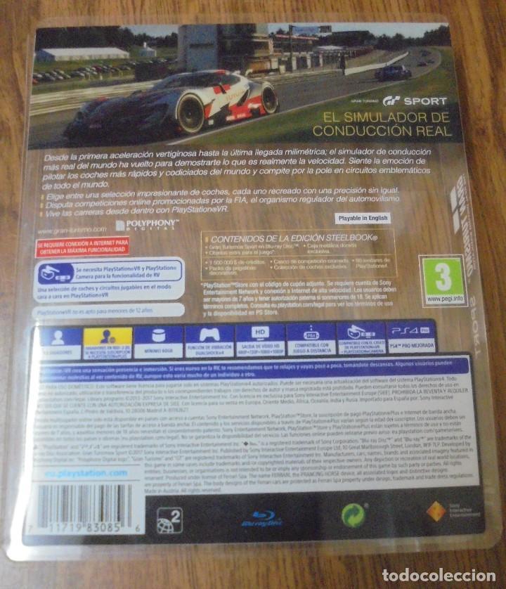 Videojuegos y Consolas PS4: JUEGO PS4 GRAN TURISMO SPORT. EDICIÓN ESPECIAL. LA EDICIÓN GRAN TURISMO SPORT SPECIAL EDITION - Foto 3 - 142917094