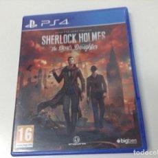Videojuegos y Consolas PS4: SHERLOCK HOLMES THE DEVIL'S DAUGHTER . Lote 142945742