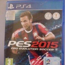 Videojuegos y Consolas PS4: PES 2015 PLAY 4. Lote 143331878
