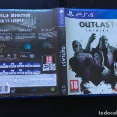 Videojuegos y Consolas PS4: OUTLAST TRINITY WHISTLEBLOWER II PS4 PLAYSTATION 4 PLAY STATION 4 KREATEN. Lote 143338378