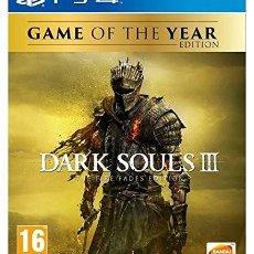 Videojuegos y Consolas PS4: DARK SOULS III: THE FIRE FADES GOTY. Lote 143389538
