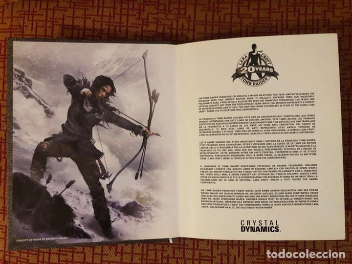 Videojuegos y Consolas PS4: Juego tom raider edición coleccionista 20 aniv - Foto 2 - 143919910