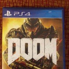 Videojuegos y Consolas PS4: JUEGO DOOM DE PLAY 4. Lote 143920366