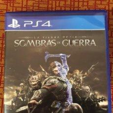 Videojuegos y Consolas PS4: JUEGO PLAY 4 SOMBRAS DE GUERRA. Lote 143920685