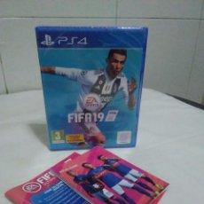 Videojuegos y Consolas PS4: JUEGO PS4 FIFA 19, NUEVO, PRECINTADO. Lote 145017058