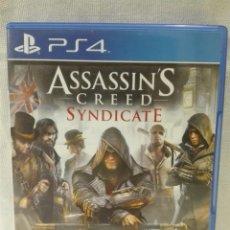 Videojuegos y Consolas PS4: ASSASSIN'S CREED SYNDICATE. Lote 146162034