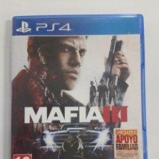 Videojuegos y Consolas PS4: MAFIA III. PS4. Lote 146625190