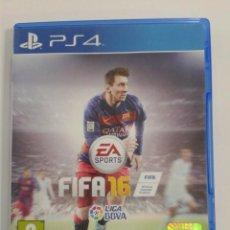 Videojuegos y Consolas PS4: FIFA 16. PS4. Lote 146625482