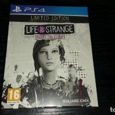 Videojuegos y Consolas PS4: LIFE IS STRANGE BEFORE THE STORM EDICION LIMITADA PS4 PAL ESPAÑA ART BOOK CD BANDA SONORA SQUAREENIX. Lote 146924498