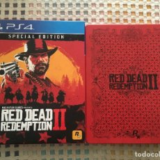 Videojuegos y Consolas PS4: RED DEAD REDEMPTION II 2 PS4 SPECIAL EDITION PLAYSTATION 4 PLAY STATION 4 KREATEN. Lote 147078226