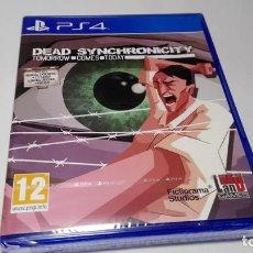 Videojuegos y Consolas PS4: DEAD SYNCHRONICITY : TOMORROW COMES TODAY ( PLAYSTATION 4 - ESP) PRECINTADO !. Lote 147165170