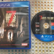 Videojuegos y Consolas PS4: 7 DAYS TO DIE DAY DIES SEVEN PS4 PLAYSTATION 4 PLAY STATION 4 KREATEN. Lote 147759502