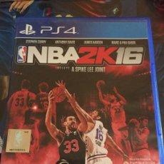 Videojuegos y Consolas PS4: NBA 2K16 PS4. Lote 150077790