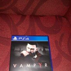 Videojuegos y Consolas PS4: VAMPYR PS4 COMO NUEVO PLAYSTATION 4 PLAY STATION + DISCO VINILO MUSICA BANDA SONORA DEL JUEGO. Lote 183325753
